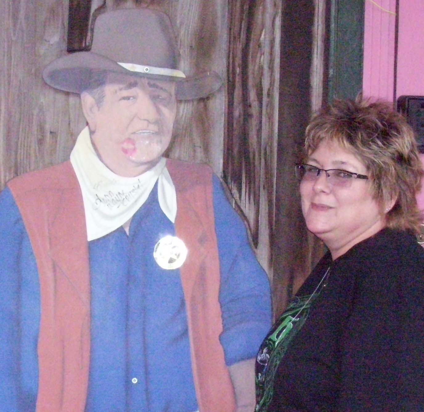 Di and John Wayne